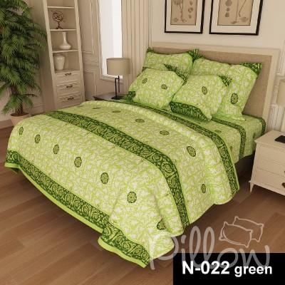Комплект постельного белья бязь голд «n-022-green» NazTextile