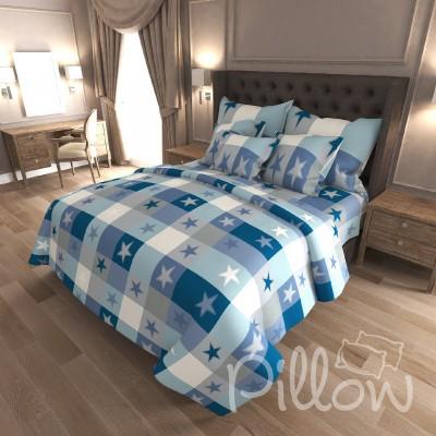 Комплект постельного белья бязь голд «n-7487» NazTextile