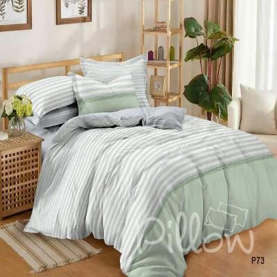 Комплект постельного белья сатин «p-73-a-b» NazTextile