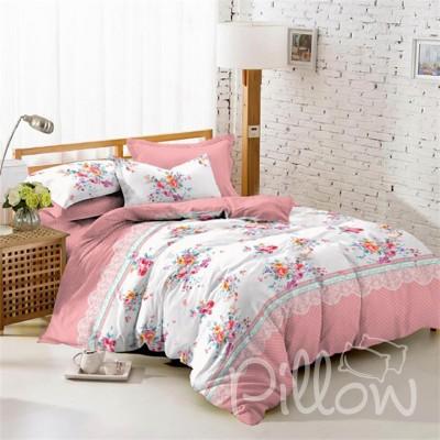 Комплект постельного белья поплин «1705-a-b» NazTextile