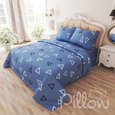 Комплект постельного белья бязь голд «n-7475-b-blue» NazTextile