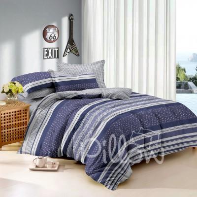 Комплект постельного белья поплин «tm-5104-z-a-b» NazTextile