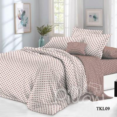 Комплект постельного белья сатин «tkl-09-a-b» NazTextile