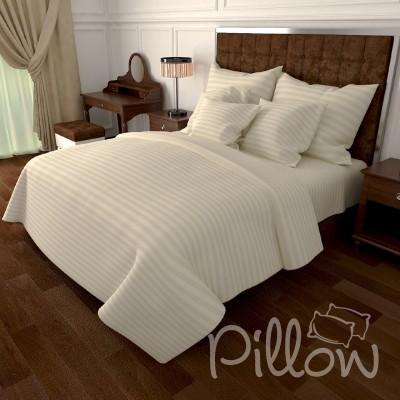 Комплект постельного белья бязь голд «n-0905-beige» NazTextile