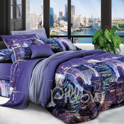 Комплект постельного белья полиэстер «xhyr-2854» NazTextile