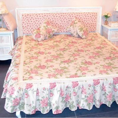 Покрывало «large pink Rose-003707» Прованс