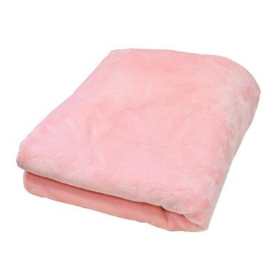 Плед плюшевый «Розовый» Прованс