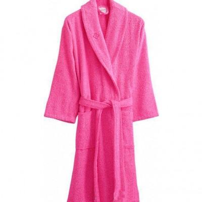 Халат махровый «Dahlia pembe» розовый | Marie Claire