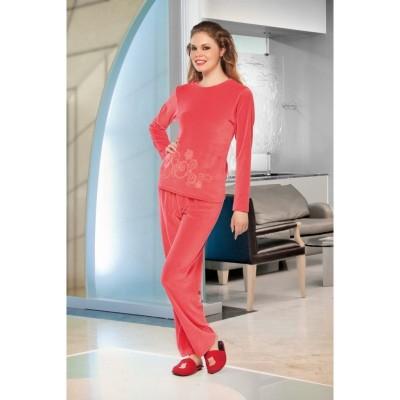 Велюровый костюм «15210» Lady Lingerie