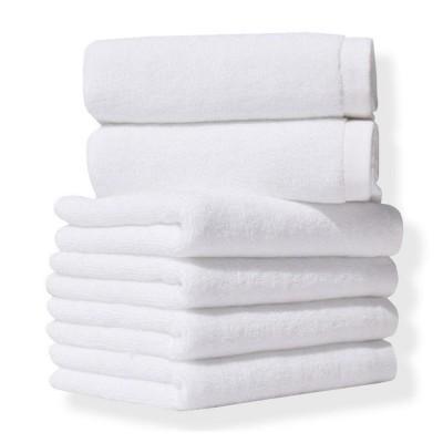 Полотенце «Отель-Белое» (20/2) 450 г/м2 | Lotus