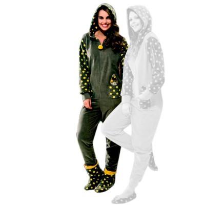 Пижама женская «4633» серый   Dika