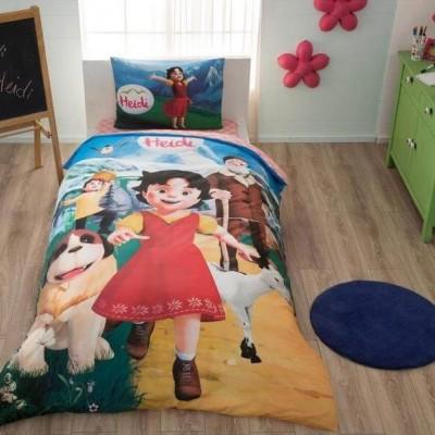 Детский комплект постельного белья ранфорс «Heidi» TAC