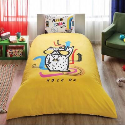 Детский комплект постельного белья ранфорс «Hallmark Rock On» TAC