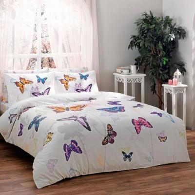 Комплект постельного белья сатин «Butterfly» TAC