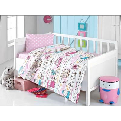 Детский комплект постельного белья ранфорс «Brielle 502 v3» Brielle