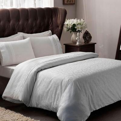Комплект постельного белья жаккард «Clemence ecru» TAC