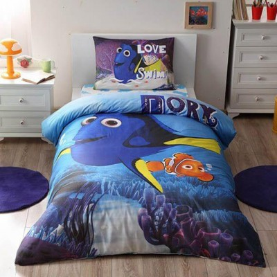 Детский комплект постельного белья ранфорс «Finding Dory Movie» TAC