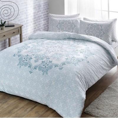 Комплект постельного белья сатин «Hazel Blue» TAC