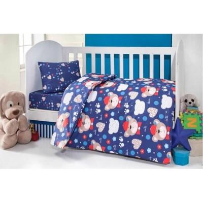 Детский комплект постельного белья ранфорс «Brielle 457 v1» Brielle
