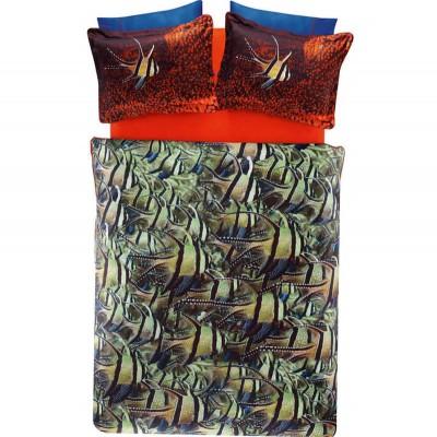 Комплект постельного белья сатин «Cobalt» TAC