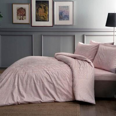 Комплект постельного белья сатин «Fabian Pink» TAC