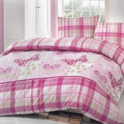 Комплект постельного белья ранфорс «Brielle 701 V2 Pink» Brielle