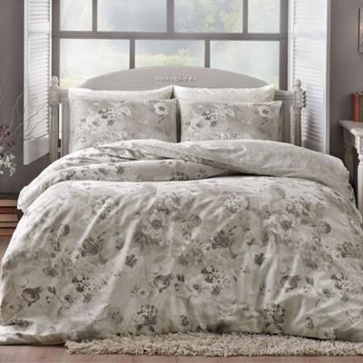 Комплект постельного белья сатин «Allure Grey» TAC