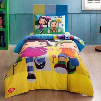 Детский комплект постельного белья ранфорс «Leliko» TAC