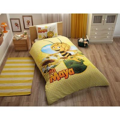 Детский комплект постельного белья ранфорс «Ari Maya Daisy» TAC