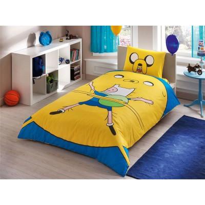 Детский комплект постельного белья ранфорс «Adventure Time» TAC