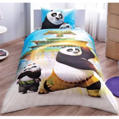 Детский комплект постельного белья ранфорс «Kung Fu Panda Movie» TAC