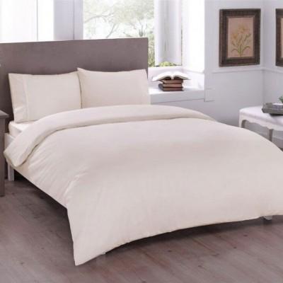 Комплект постельного белья ранфорс «Basic Creme» TAC