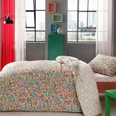Детский комплект постельного белья ранфорс «Graffiti Scull» TAC