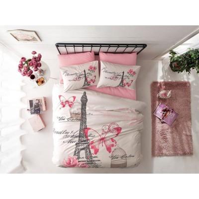 Комплект постельного белья ранфорс «Giselle Pink» TAC