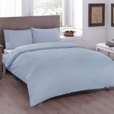 Комплект постельного белья ранфорс «Basic Blue» TAC