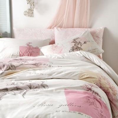 Комплект постельного белья ранфорс «Betsy Pink» TAC