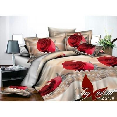 Комплект постельного белья полисатин «PS-NZ 2479» TAG