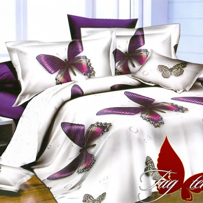 Комплект постельного белья полисатин «PS-NZ2193» TAG