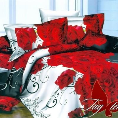 Комплект постельного белья полисатин «PS-NZ2182» TAG