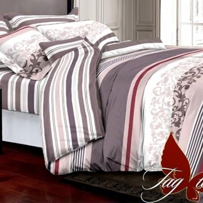 Комплект постельного белья полисатин «PS-NZ 2490» TAG