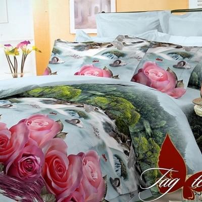 Комплект постельного белья поликоттон «BR11781» TAG
