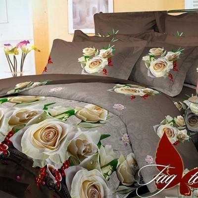 Комплект постельного белья поликоттон «BR3408» TAG