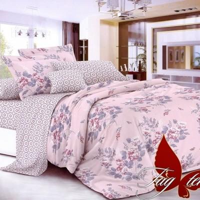 Комплект постельного белья сатин люкс «S-090» TAG