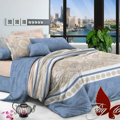 Комплект постельного белья сатин люкс «S-127» TAG
