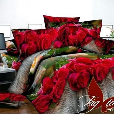 Комплект постельного белья полисатин «PS-NZ 2480» TAG