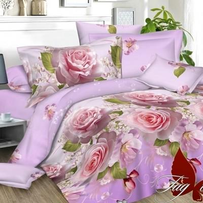 Комплект постельного белья полисатин «PS-NZ024» TAG