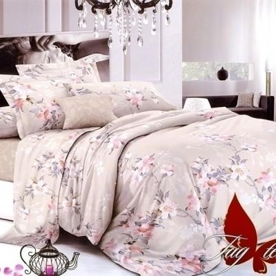 Комплект постельного белья поплин «1703» евростандарт | TAG