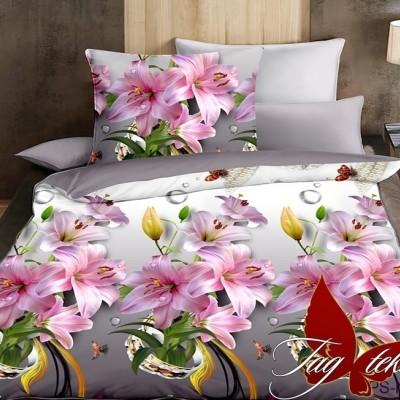 Комплект постельного белья полисатин «PS-NZ1945» TAG
