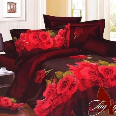 Комплект постельного белья полисатин «PS-QT621» TAG