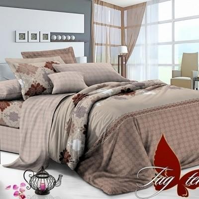 Комплект постельного белья сатин люкс «S-098» TAG